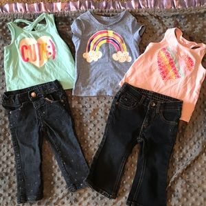 Other - 3 Shirts & 2 Pairs of Pants